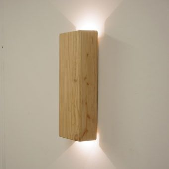 Wooden wall fitting